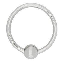 Acorn Stainless Steel Penis Ring 30mm by Steel Power Tools