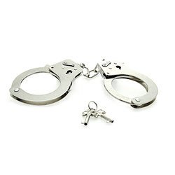 Eroflame Metal Handcuffs by Toy Joy Sex Toys