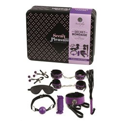 Secret Bondage Kit Black And Purple Collection by Various Toy Brands