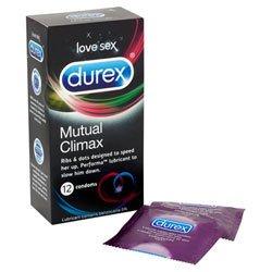 Durex Mutual Climax 12 Pack Condoms by Durex Condoms