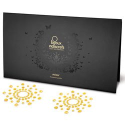 Bijoux Indiscrets Mimi Nipple Jewels Gold by Bijoux Indiscrets