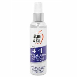 4 In 1 Pure And Clean Misting Toy Cleaner by Adam and Eve
