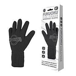 Fukuoku Vibrating Five Finger Massage Glove  Left Hand by Finger Fitting Products