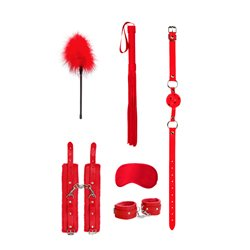 Beginners Bondage Kit Red by Shots Toys