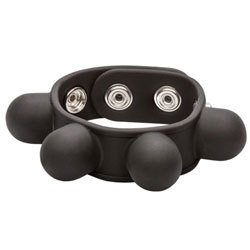 Weighted Ball Stretcher Cock Ring by California Exotic