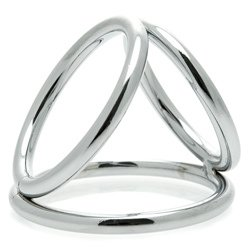 The Triad Chamber Cock And Ball Ring Large by Master Series
