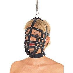 Leather Muzzle Mask by Rimba