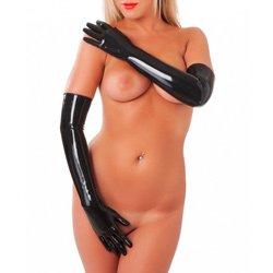 Rubber Secrets Long Gloves by Rimba